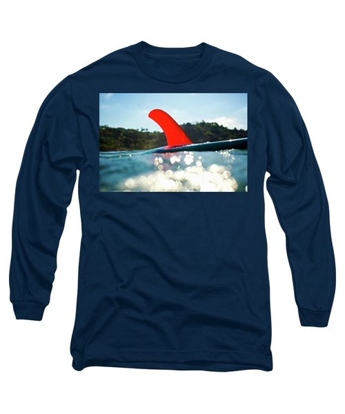 Red Fin Long Sleeve T-Shirt