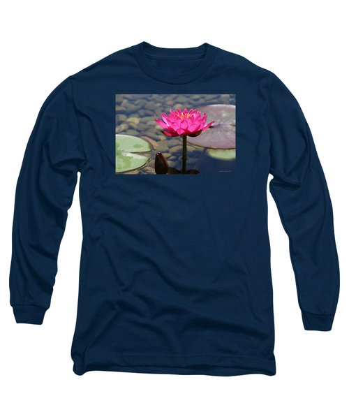 Red Lotus Long Sleeve T-Shirt