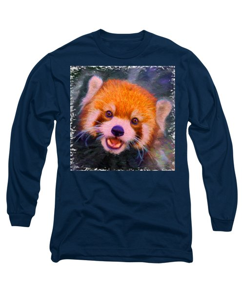 Red Panda Cub Long Sleeve T-Shirt