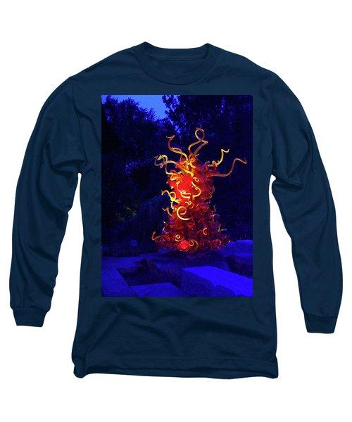 Redyellowbluenight Long Sleeve T-Shirt