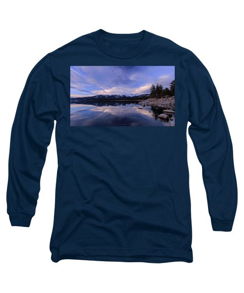 Reflection In Winter Long Sleeve T-Shirt