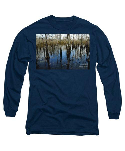 Reflections At Big Cypress Long Sleeve T-Shirt