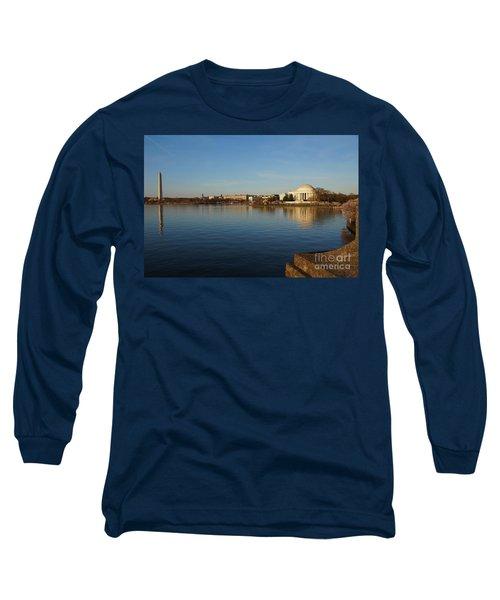 Reflections  Long Sleeve T-Shirt by Megan Cohen