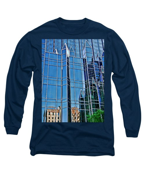 Long Sleeve T-Shirt featuring the photograph Reflections by Rhonda McDougall
