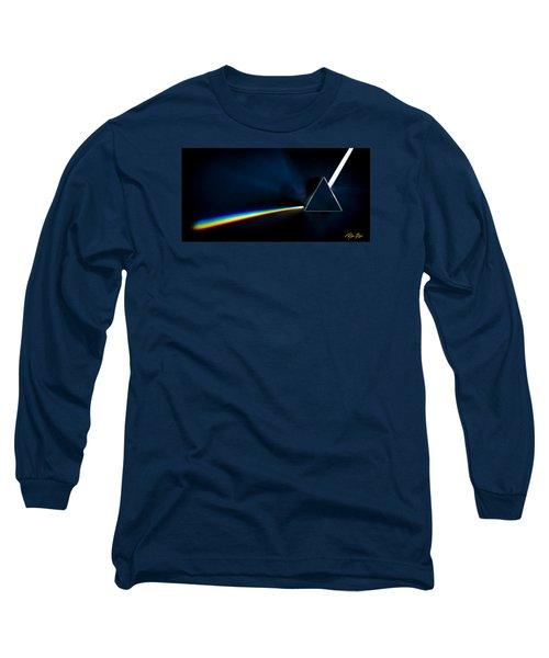 Refraction  Long Sleeve T-Shirt by Rikk Flohr