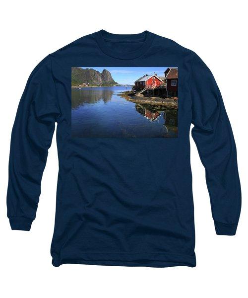 Reine, Norway Long Sleeve T-Shirt
