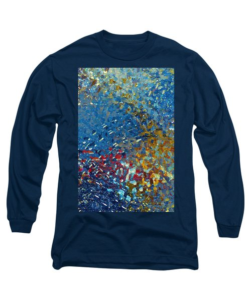 Rest From Your Sorrow. Isaiah 14 3 Long Sleeve T-Shirt by Mark Lawrence
