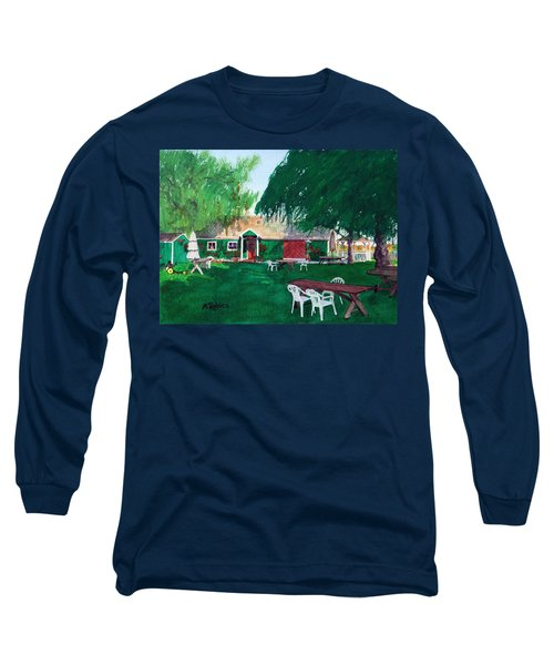 Retzlaff Winery Long Sleeve T-Shirt by Mike Robles