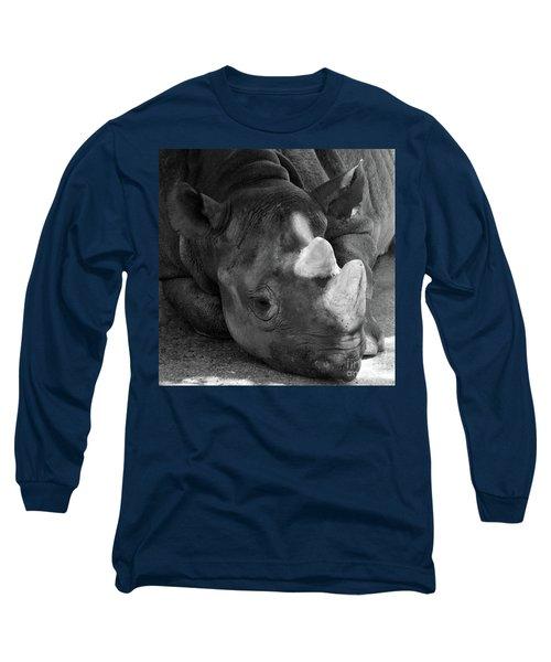 Rhino Nap Long Sleeve T-Shirt