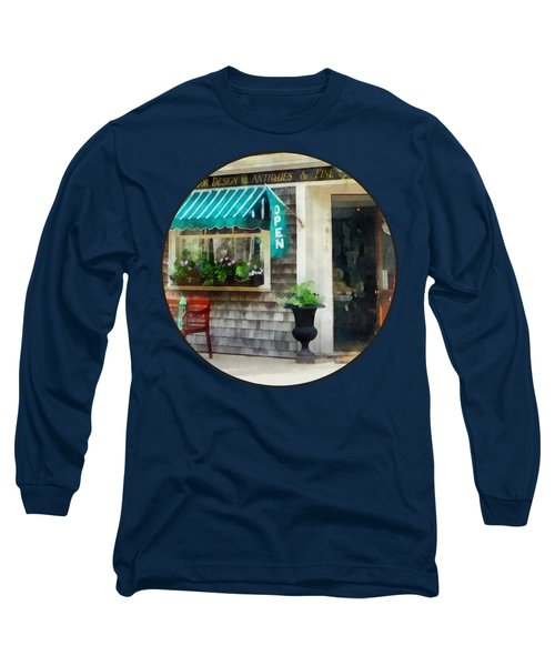 Rhode Island - Antique Shop Newport Ri Long Sleeve T-Shirt