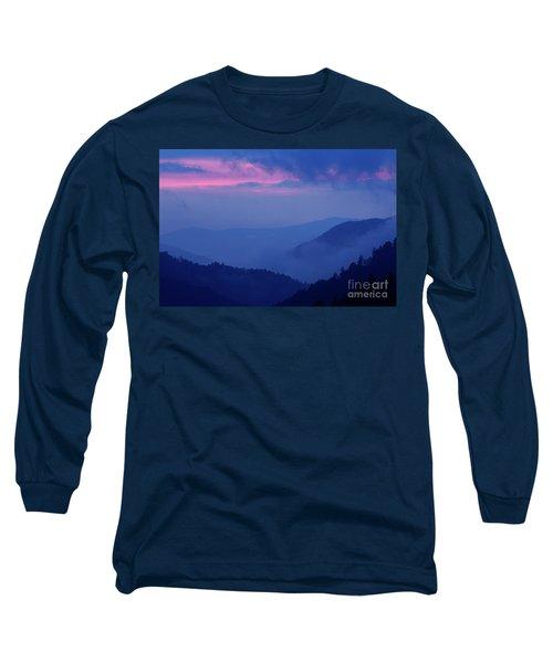 Long Sleeve T-Shirt featuring the photograph Ridges - D000023 by Daniel Dempster