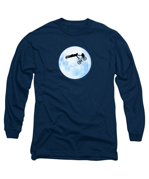 Riding The Kuwahara Bmx Like A Boss Long Sleeve T-Shirt