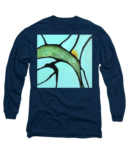 Long Sleeve T-Shirt featuring the painting Ripening II by Mary Sullivan