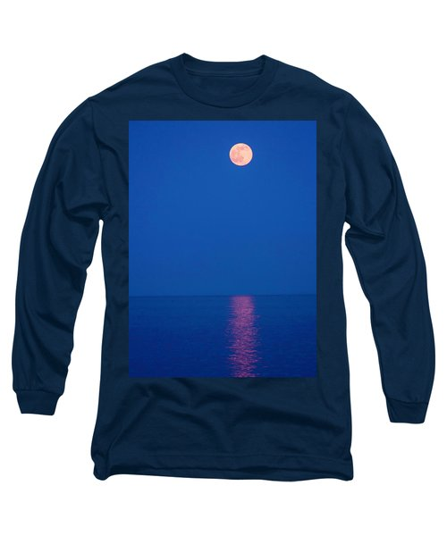 Long Sleeve T-Shirt featuring the photograph Rise by Michael Nowotny