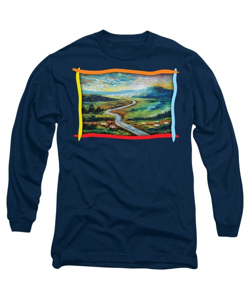 River In The Valley Long Sleeve T-Shirt