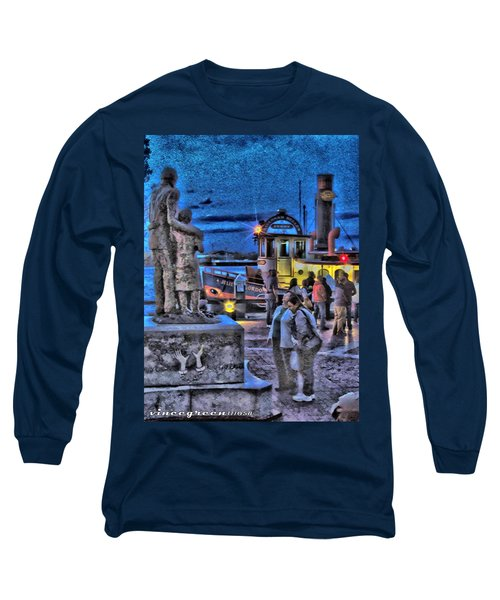 River Street Blues Long Sleeve T-Shirt