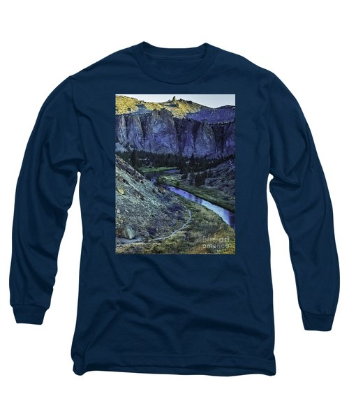 Long Sleeve T-Shirt featuring the photograph Rock Climbing Mecca by Nancy Marie Ricketts