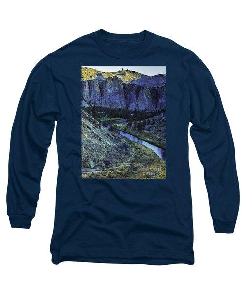 Rock Climbing Mecca Long Sleeve T-Shirt