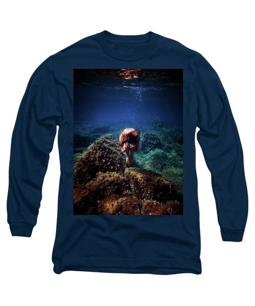 Rock Mermaid Long Sleeve T-Shirt