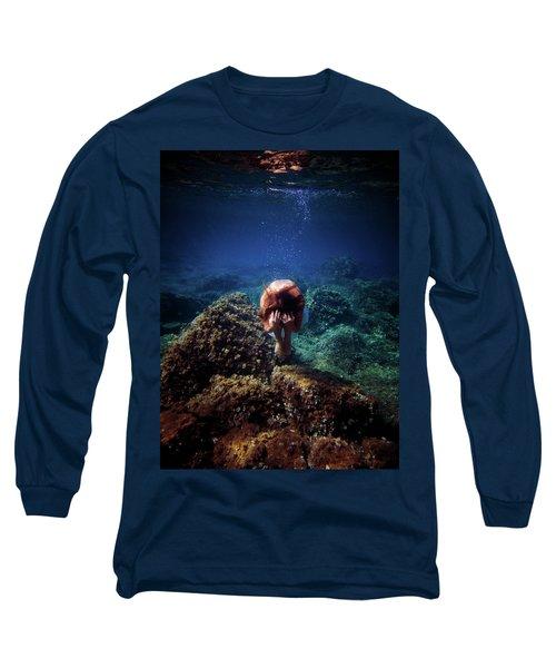 Rock Mermaid Long Sleeve T-Shirt