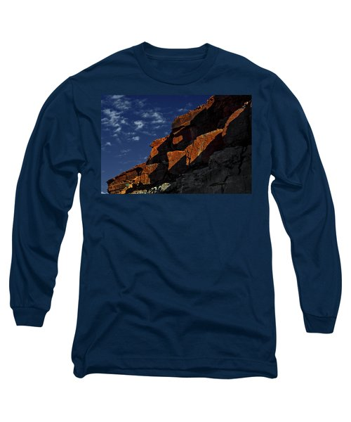 Sky And Rocks Long Sleeve T-Shirt