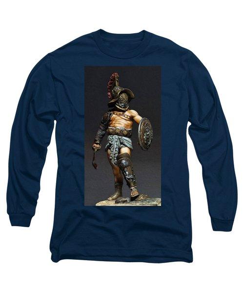 Roman Gladiator - 02 Long Sleeve T-Shirt