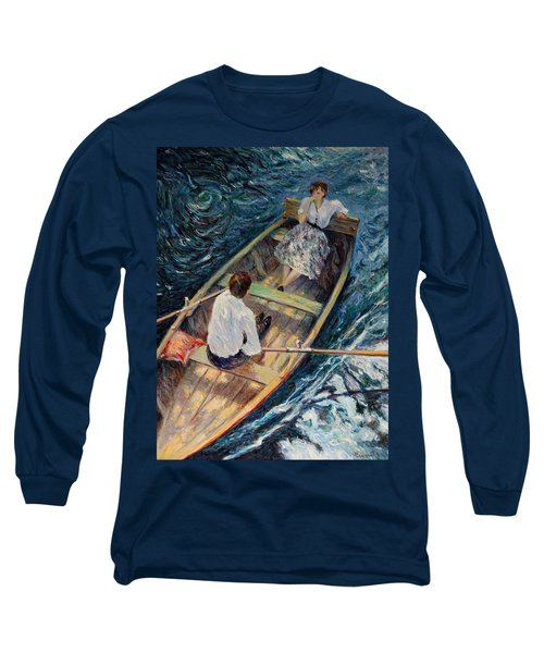 Dordogne , Beynac-et-cazenac , France ,romantic Boat Trip Long Sleeve T-Shirt