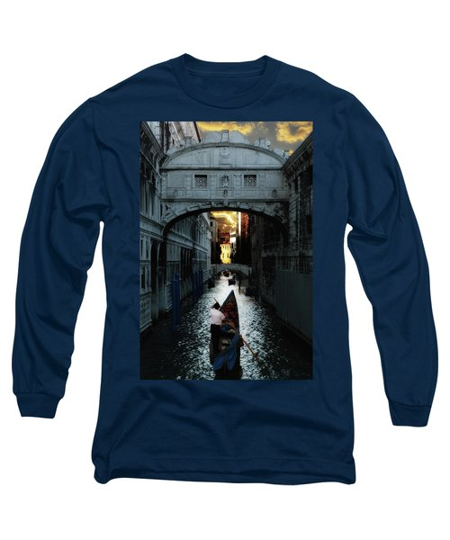 Long Sleeve T-Shirt featuring the photograph Romantic Venice by Harry Spitz