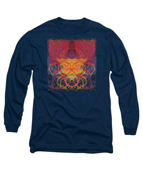 Long Sleeve T-Shirt featuring the digital art Rorschach1 by David Klaboe