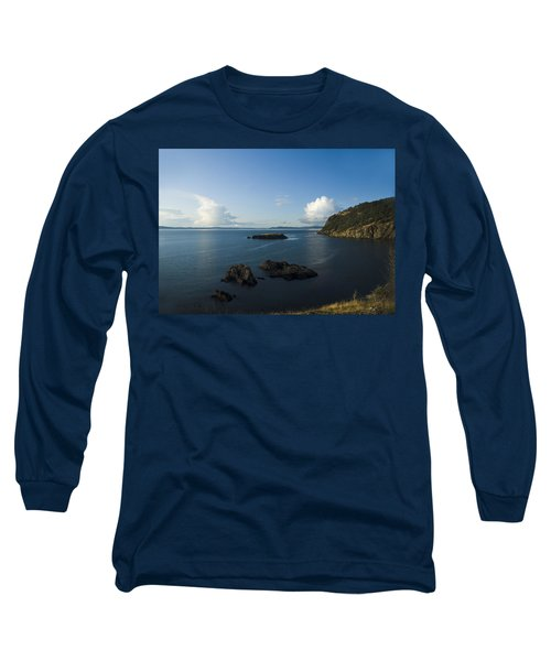 Rosario Strait Near Anacortes Long Sleeve T-Shirt