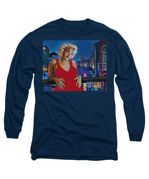 Rot In Venedig / Red In Venice Long Sleeve T-Shirt