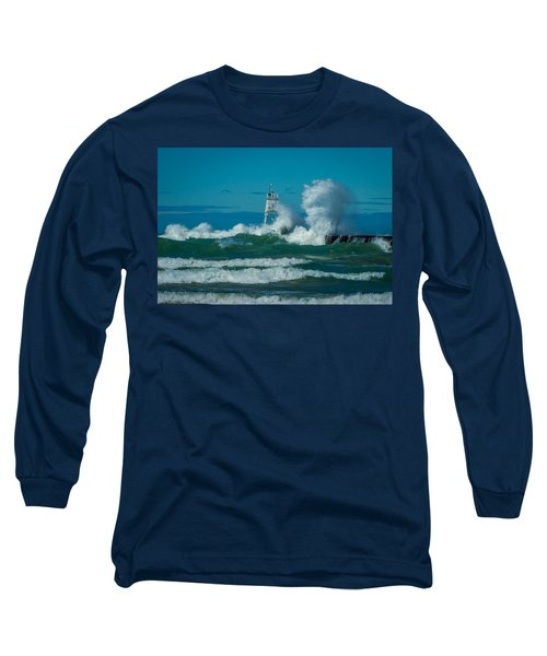 Rough Seas  Long Sleeve T-Shirt