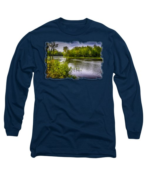 Long Sleeve T-Shirt featuring the photograph Round The Bend In Oil 36 by Mark Myhaver