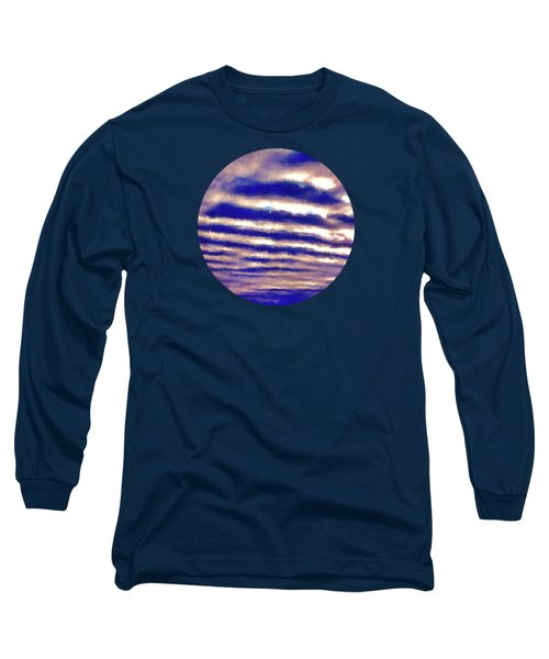 Rows Of Clouds Long Sleeve T-Shirt