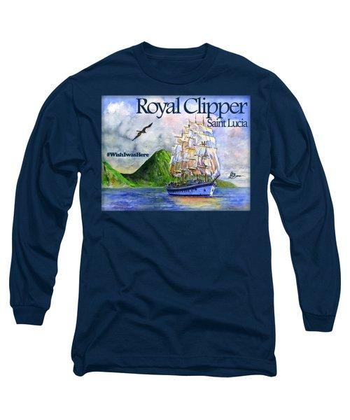 Royal Clipper St Lucia Shirt Long Sleeve T-Shirt