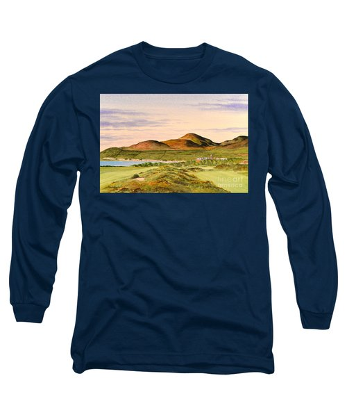 Royal County Down Golf Course Long Sleeve T-Shirt by Bill Holkham