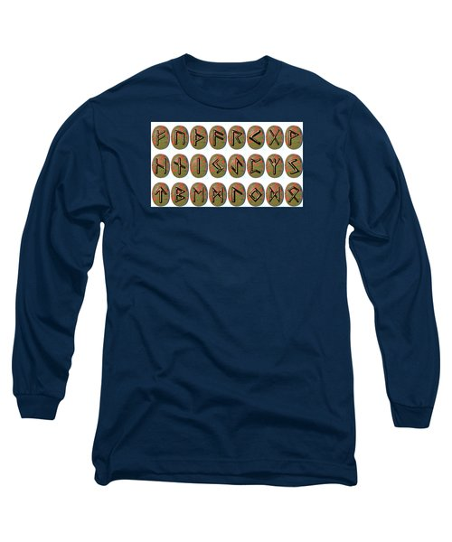 Rune Set Long Sleeve T-Shirt by Dorothy Berry-Lound