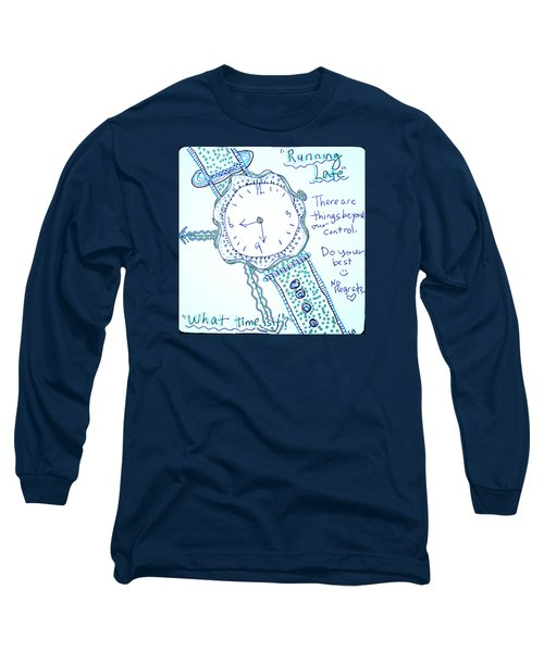On Time Long Sleeve T-Shirt by Carole Brecht