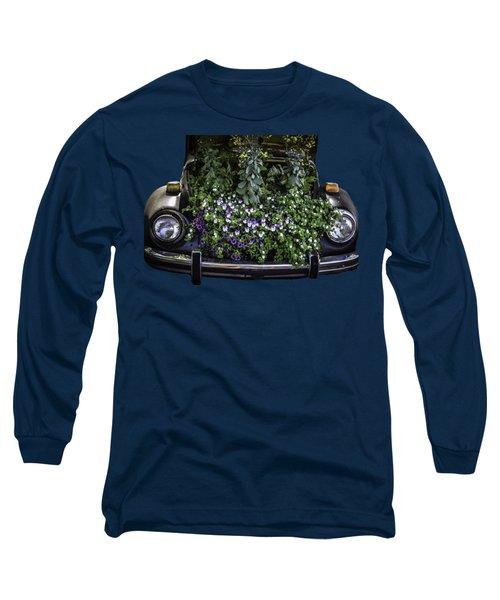Running On Flowers Long Sleeve T-Shirt
