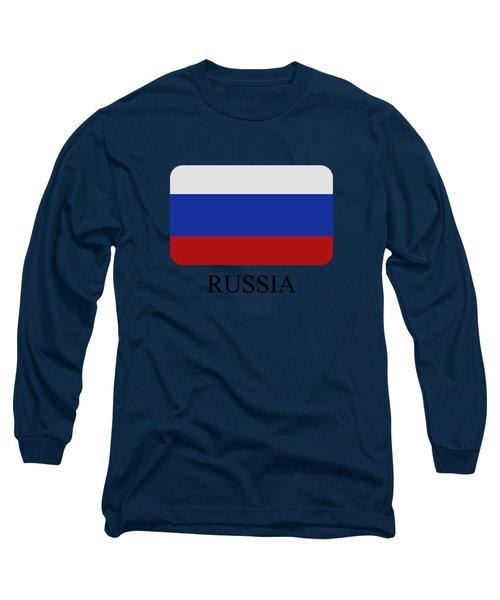 Russia Flag Long Sleeve T-Shirt