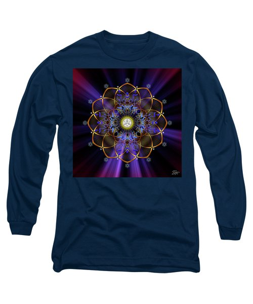 Sacred Geometry 647 Long Sleeve T-Shirt