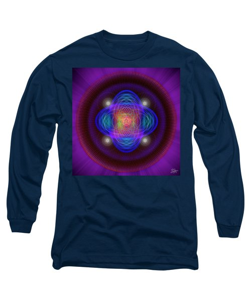 Sacred Geometry 654 Long Sleeve T-Shirt
