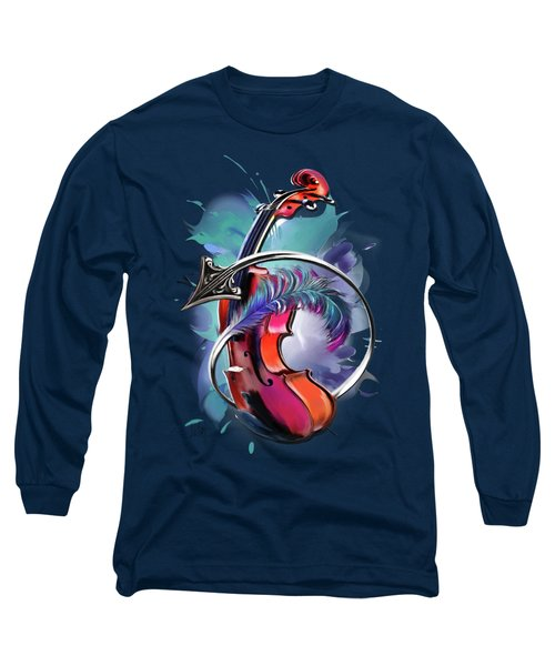 Sagittarius Long Sleeve T-Shirt by Melanie D