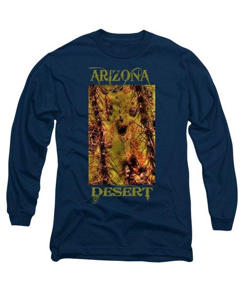 Saguaro Detail No. 25 Long Sleeve T-Shirt