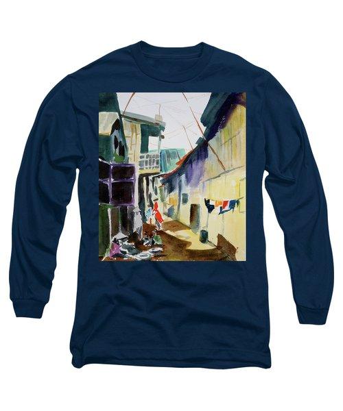 Saigon Alley Long Sleeve T-Shirt by Tom Simmons