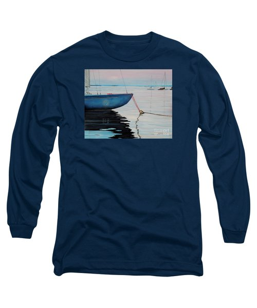 Sailboat Tied Long Sleeve T-Shirt