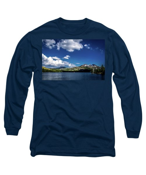 Sailing On Caples Lake Long Sleeve T-Shirt