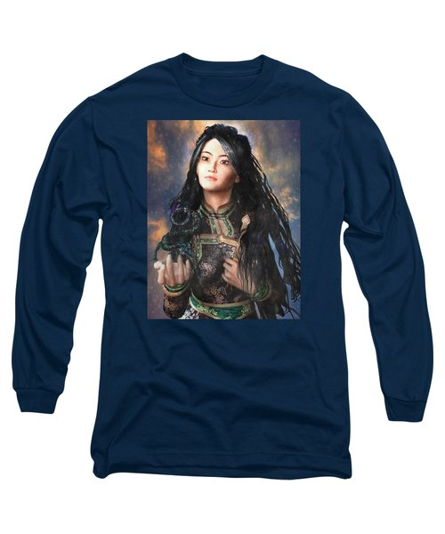 Saint Agnes Of Vietnam 7 Long Sleeve T-Shirt by Suzanne Silvir