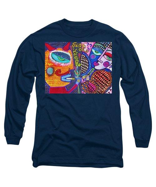 -sold- Saint Heart Or Sinner  Long Sleeve T-Shirt