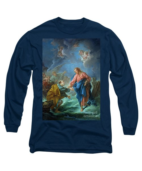 Saint Peter Invited To Walk On The Water Long Sleeve T-Shirt